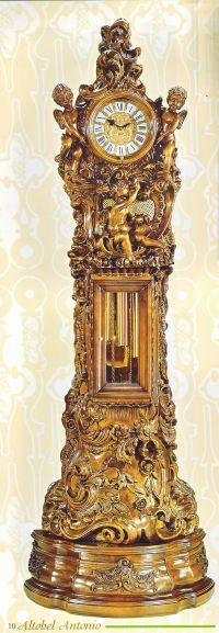 Festra Grandfather Clock from Altobel Antonio