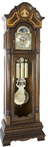 Hermle Grandfather Clock - made in USA - 010803-031161