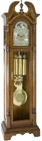 Hermle Grandfather Clock - Made in USA - 910976-N91161