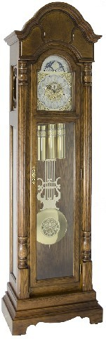 Hermle Grandfather Clock - Made in USA - 010994-N91161