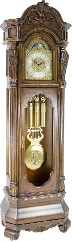 Hermle Grandfather Clock 010997-031161