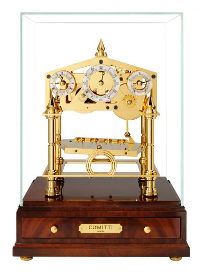 The Congreve Clock S5013G by Comitti of London