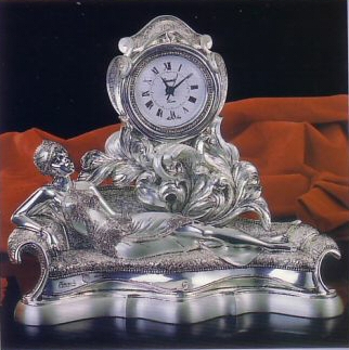 Linea Argenti - PR 206 - Large Table Clock