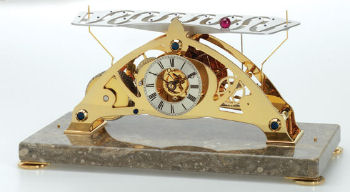 Congreve Clock with Circular Dial