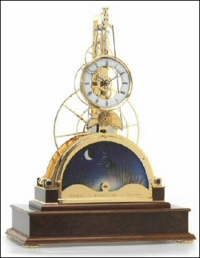 Sinclair Harding Sun and Moon Clock