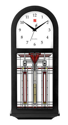 Bulova Wall Clock - Frank Lloyd Wright C4836